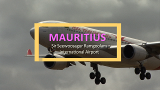 Main Airport for the island nation Mauritius, Sir Seewoosagur Ramgoolam International Airport