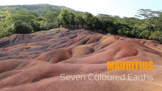The Seven Colored Earths is a famous tourist spot in the Mauritius Island