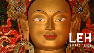 Thiksey Monastery is a great example to learn about Lord Buddha's birth, enlightenment and Nirvana